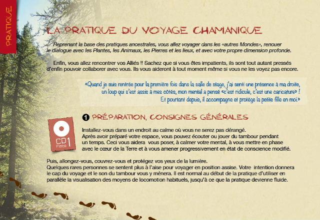Top Carnet de Voyage Chamanique GG22